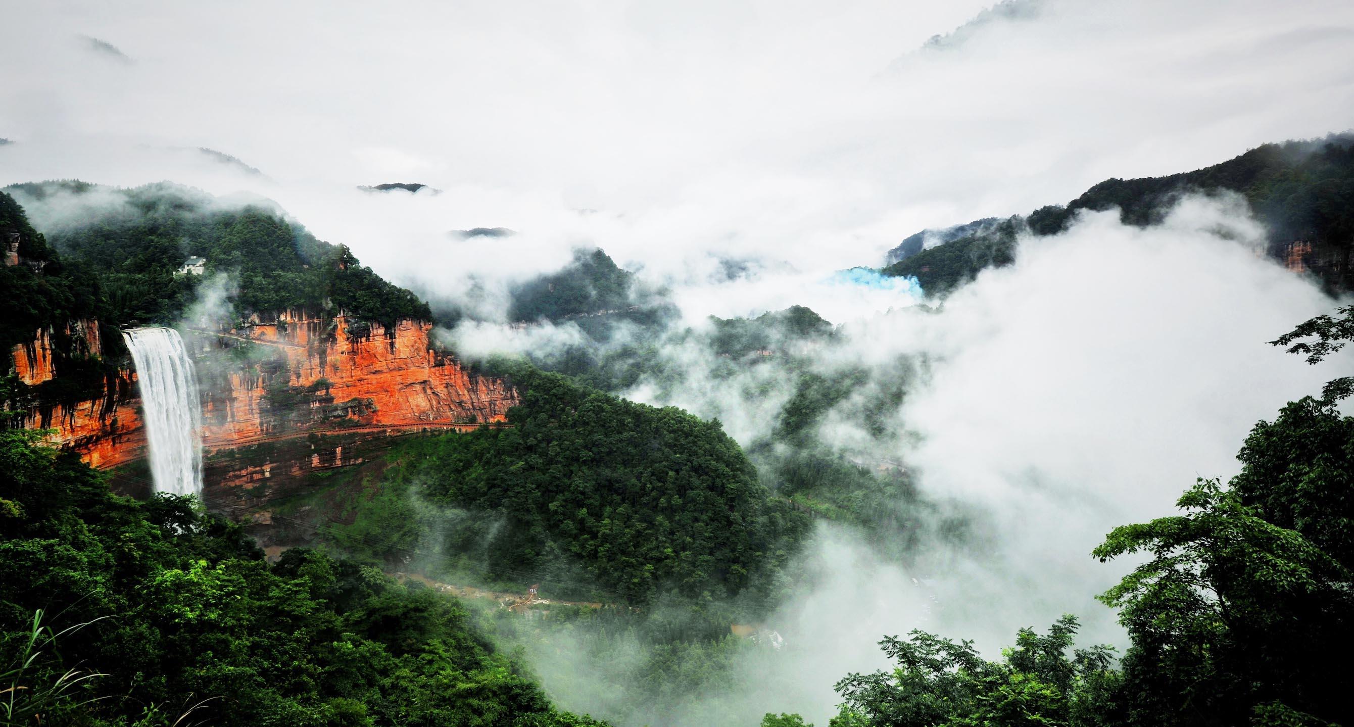 """极限挑战赛""""将于11月11日在国家5a级旅游景区重庆江津区四面山开赛,本"""