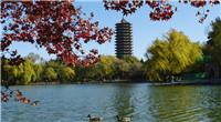 Otoño en la Universidad de Pekín