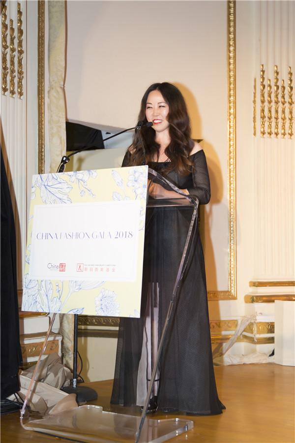 Grace Chen回归美国首秀 谱写2018中美时尚慈善夜华彩篇章
