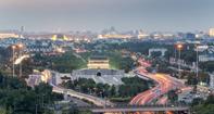 北京中軸線の南スタート地点・永定門城楼