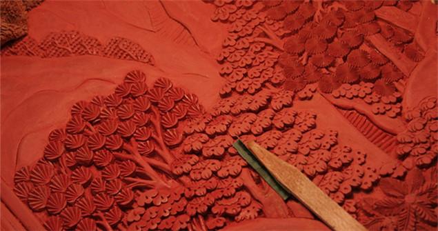 Escultura de laca