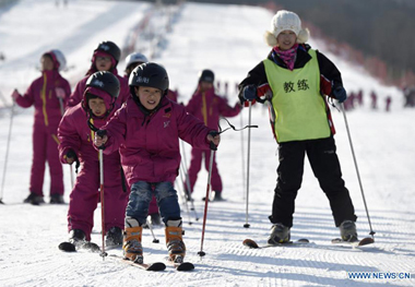 Chongli offers free skiing for youths