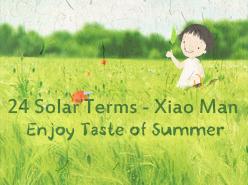 24 Solar Terms - Xiao Man
