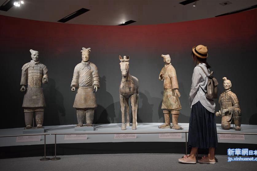北京・「秦漢文明」展覧会が開幕