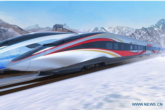 Winter Olympics high-speed train to complete testing by mid-2019