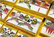 Artesanías en Beijing en torno al Año Nuevo